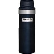 【【蘋果戶外】】Stanley 美國 10-06439 藍 經典按壓式單手保溫杯 16oz 咖啡杯隨行杯 1006439