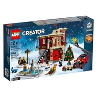 LEGO 樂高 Creator 10263 冬季村消防局