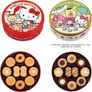 (2款)北日本三麗鷗餅乾禮盒(綜合口味)/Kitty餅乾禮盒(奶油)/迪士尼圓罐餅乾(60枚入)