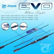 Pioneer Evo Ultralight Sp 602 180cm 2 Fishing Rod - @ 6lb