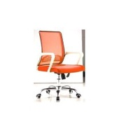 Ergonomic Mesh Low Back Rest Swival Office Chair J76 (Orange)