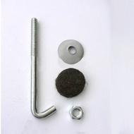 304材質 白鐵 不鏽鋼 石棉瓦勾釘 鉤釘 浪板 勾釘 鐵皮屋 鈎釘 一鈎釘 100支/包