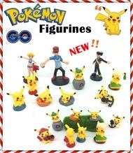 ♥  Pokemon Go ♥ Figurines ♥ Cake toppers ♥ Pokemon Monster ♥ Pikachu ♥ Toys ♥ Tsum Tsum ♥ plush ♥ Complete set of action figurines ♥
