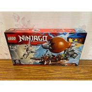 「翻滾樂高」LEGO 70603 旋風忍者 忍者襲擊海盜飛船 全新未拆