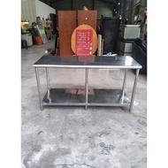 【承詮二手傢俱】五尺白鐵工作桌A00511