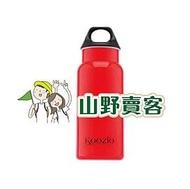 【山野賣客】Koozio / 炫紅色 - 600ml 水瓶, 不鏽鋼水壺 休閒水壺 自行車水壺 衛生無毒