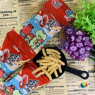 [SNACKS MAP零食地圖]日本  卡樂比 CALBEE 四連餅乾 原味蝦條  燒烤味蝦條  和風醬汁味蝦條   田園蔬菜味薯條   香港製造    餅乾  零食       全館全家超取499免運