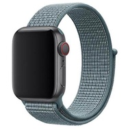 Nylon Band Compatible for Apple Watch Band 38MM 40MM 42MM 44MM, Soft Lightweight Breathable Nylon Replacement Sport Strap Compatible for Apple Watch Series 5/4/3/2/1
