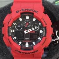 G-SHOCK GA-100B-4 紅鋼彈