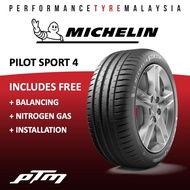 205/55R16 Michelin Pilot Sport 4 PS4 Tyre Tayar Tire (FREE INSTALLATION/DELIVERY)