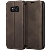 เคส S8 เคส Samsung Galaxy S8 Case เคสมือถือ S 8 เคสซัมซุง S8 เคส ซัมซุง เอส 8 เคสโทรศัพท์ เคสหนังแท้ แฮนด์เมด BEZ เคสหนังฝาพับ ฝาปิด พร้อมช่องใส่บัตร ตั้งได้ Handmade Genuine Leather Wallet Flip Case / LB1 GS8-