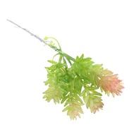 Tishita ไม้อวบน้ำประดิษฐ์พืช DIY วัสดุดอกไม้ปลอมสำหรับ Home การตกแต่งงานแต่งงานสำนักงาน