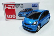 缺貨中請勿下標【Pmkr】 100 TOMY TOMICA - Honda Fit 2代目 全新 絕版品 中製