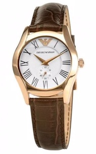 Emporio Armani Womens AR0678 Watch Rose Gold