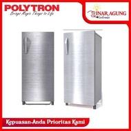 POLYTRON Kulkas 1 Pintu PRX171S [170 L] - Silver - SILVER