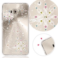 【KnowStar】ASUS 系列 奧地利彩鑽防摔手機殼-冰雪(ZB633KL/ZB631KL/ZE552KL/ZE620KL/ZE554KL/ZS630KL)