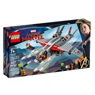 76127【LEGO 樂高積木】超級英雄 Super Heroes 系列 - Captain Marvel and The Skrull Attack