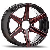 "Lenso Wheel Road&Terrain-H ขอบ 20x9.5"" 6รู139.7 ET+15 สีRBKA แม็กเลนโซ่ ล้อแม็ก เลนโซ่ lenso20 แม็กรถยนต์ขอบ20"