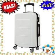 SALE!!! กระเป๋าเดินทาง รุ่น AH006 ขนาด 20 นิ้ว สีขาว  แบรนด์ของแท้ 100% หมวดหมู่สินค้ากลุ่ม กระเป๋าเดินทาง ใบเล็ก กลาง ใหญ่ พอดี กระเป๋าล้อลาก