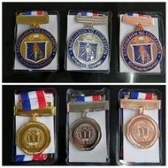 Kagawaran/Academic medal 6cm/5cm/4cm/3.7cm gold, silver , bronze