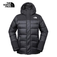 【The North Face】The North Face北面男款黑色輕便防潑水羽絨外套|3RKBKX7