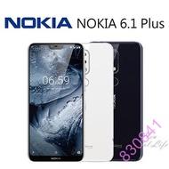 NOKIA + Nokia6.1+ Nokia6.1plus 9H 鋼化玻璃 保護貼 諾基亞 *