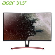 【32型曲電競】acer ED323QUR A VA曲面電競螢幕/2560x1440/144Hz/AMD FreeSync/85% NTSC/無邊框/DP/HDMI/DVI/壁掛/MM.TE7TT.002