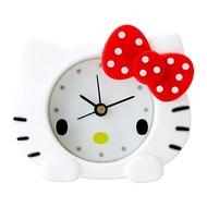 Hello Kitty立體造型矽膠迷你鐘/鬧鐘/指針鬧鐘/今日最便宜/貨到付款/現貨/禮物
