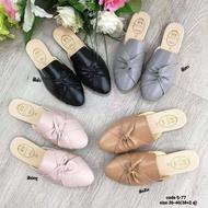 (1คู่) รองเท้าคัชชู รองเท้าเปิดส้นผู้หญิง รองเท้าแตะแฟชั่นผู้หญิง มีเก็บปลายทาง เบอร์36-40