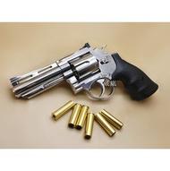 HFC 4吋 左輪 手槍 瓦斯槍 銀 (BB槍BB彈玩具槍CO2槍空氣槍直壓槍模型槍道具槍競技槍氣動槍城市獵人左輪槍4寸
