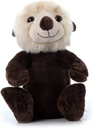 The Petting Zoo Hoodie Sea Otter Stuffed Animal, Gifts for Kids, Plush Toy 9 inches