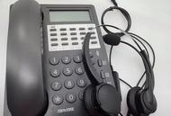 國洋TENTEL K-761 K361 K362 K732 K762 K311 專用客服電話耳機麥克風(雙耳)