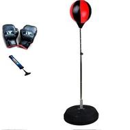 黑紅 拳擊球(成人) 立式拳擊速度球 直立式拳擊球拳擊座.速度回彈球沙包不倒翁氣墊發洩球散DIGITAD1108
