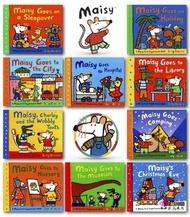 [邦森外文書] Maisy's First Experiences Collection 老鼠波波 第一次經驗 平裝套書