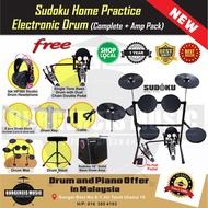 Sudoku Home Practice Electronic drum digital electric drum set kit - ROLAND,YAMAHA,ALESIS support