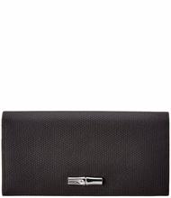 Longchamp Womens  Roseau Leather Continental Wallet