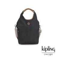 【KIPLING】城市探索霧灰肩背側背包-URBANA-EDGELAND系列