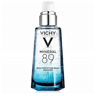 Vichy Mineral 89 Hydrating Hyaluronic Acid Serum and Daily Skin Booster, For Stronger, Healthier Loo