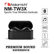 Nakamichi TW3X Bluetooth Version 5.0 True Wireless Earphone With Touch Control