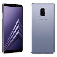 三星SAMSUNG A8 2018  5.6 吋全螢幕手機-紫色【福利機】加送64G記憶卡+防摔空壓殼
