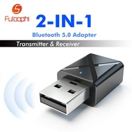 Bluetooth 5.0 Audio Receiver Transmitter Mini Stereo Bluetooth AUX RCA USB 3.5mm Jack for TV PC Car