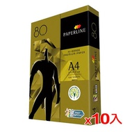 【10件超值組】金牌 A4多功能影印紙80磅500張