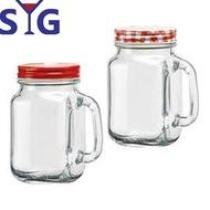 【SYG】多功能玻璃罐梅森杯500cc(二入組)