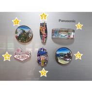 Magnet ติดตู้เย็นซื้อจากอเมริกา มือสองสภาพสวยจัด รวมสถานที่ท่องเที่ยวของ USA