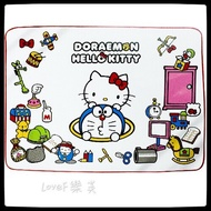 LoveF樂芙 Hello Kitty ✕ Doraemon 刷毛毯 毛毯 懶人毯 冷氣毯 毯子 日本進口 正版授權