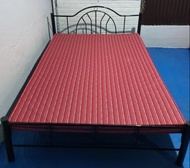 Single Bed Frame With 4 Inch Thick Mandaue Foam Mattress
