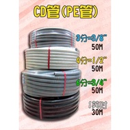 [瀚維 二號店] 3分 4分 6分 1英吋 CD管 PE管 蛇管 另 盒接頭 管接頭 金屬軟管 塑膠浪管 PF管