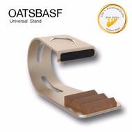 OATSBASF ที่วางโทรศัพท์ 2in1 AppleWatch For Smart Phone Universal Stand (ทอง)