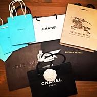 各式精品紙袋 紙盒 LV CHANEL BURBERRY TORYBURCH