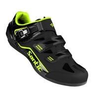 BAISKY百士奇 公路登山自行車專用硬底鞋加勒比(黑色)